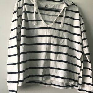 Loft beach striped sweater